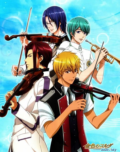 Yuki Kure, Koei, Kiniro no Corda 3, Yukihiro Yagisawa, Reiji Myouga