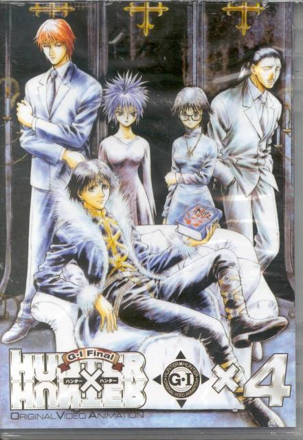 Yoshihiro Togashi, Hunter x Hunter, Shizuku (Hunter x Hunter), Hisoka, Hazama Nobunaga