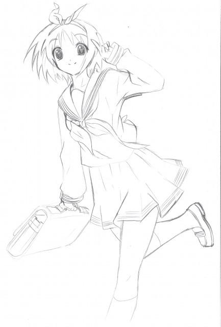 Lucky Star, Tsukasa Hiiragi, Member Art
