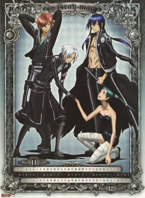 TMS Entertainment, D Gray-Man, Yu Kanda, Allen Walker, Lenalee Lee