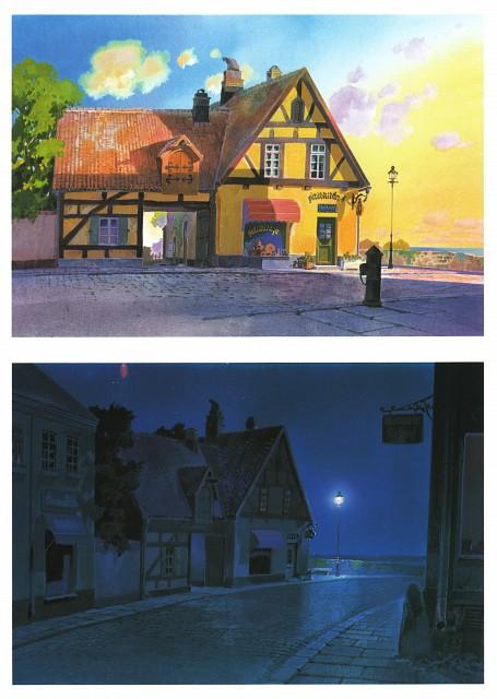 Hayao Miyazaki, Studio Ghibli, Kiki's Delivery Service, The Art of Kiki's Delivery Service