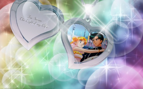 Toei Animation, Bishoujo Senshi Sailor Moon, Prince Endymion, Princess Serenity Wallpaper