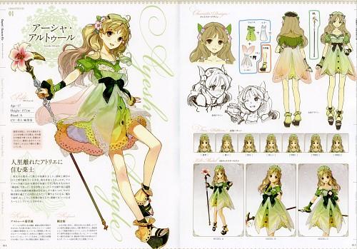Hidari, Gust, Atelier Ayesha: Official Visual Book, Atelier Ayesha, Ayesha Altugle