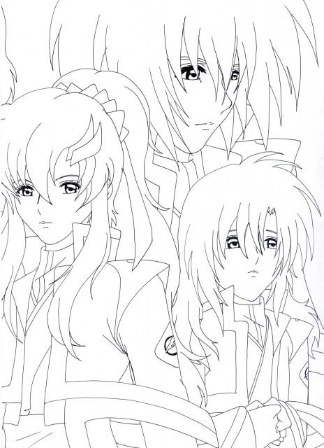 Sunrise (Studio), Mobile Suit Gundam SEED Destiny, Lacus Clyne, Kira Yamato, Member Art