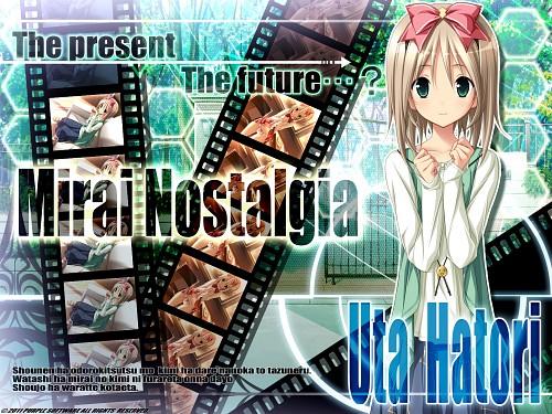 Purple Software, Mirai Nostalgia, Uta Hatori, Official Wallpaper