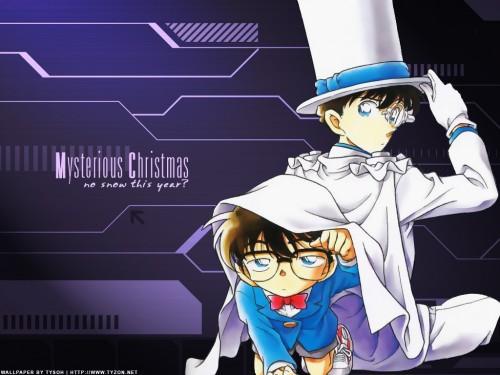 Gosho Aoyama, TMS Entertainment, Detective Conan, Kaito Kuroba, Conan Edogawa Wallpaper