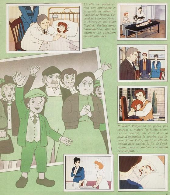 Ai Shoujo Pollyanna Story, Polly Harrington, Pollyanna Whittier, Della Wetherby, Jimmy Bean