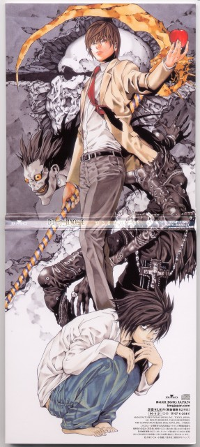 Takeshi Obata, Death Note, Ryuk, L, Light Yagami