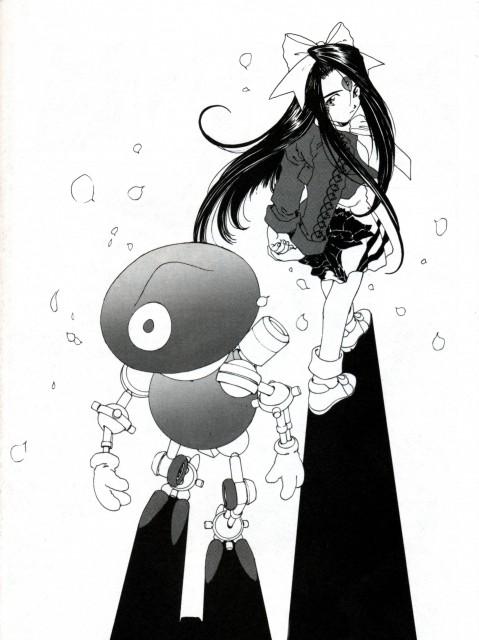 Kousuke Fujishima, Ah! Megami-sama, Banpei, Skuld