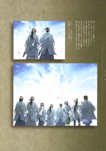 Yone Kazuki, Idea Factory, Hakuouki Shinsengumi Kitan, Toshizou Hijikata (Hakuouki), Shinpachi Nagakura (Hakuouki)