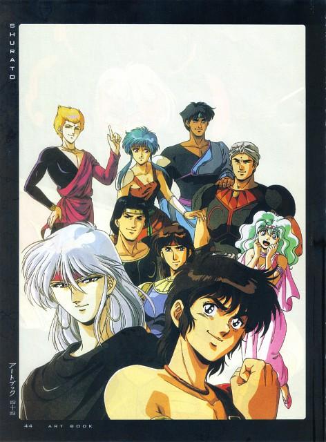 Hiroshi Kawamoto, Tatsunoko Production, Tenkuu Senki Shurato, Fight - Artbook IV, Lakshu