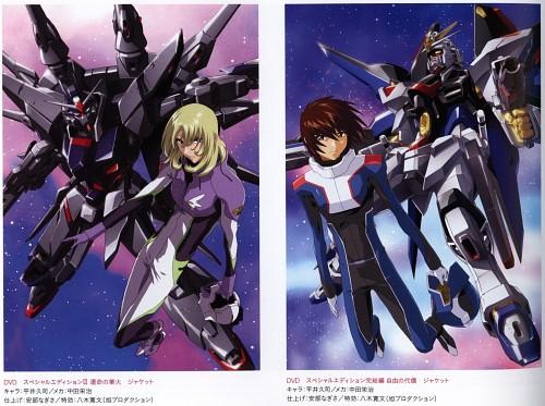 Hisashi Hirai, Sunrise (Studio), Mobile Suit Gundam SEED Destiny, Kira Yamato, Rey Za Burrel
