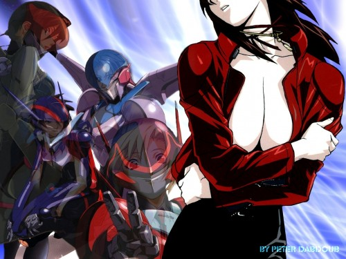 Anime International Company, Bubblegum Crisis, Reika Chang, Sylia Stingray, Nene Romanova Wallpaper