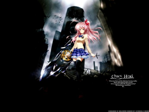 Nitro+, Madhouse, Chaos Head, Rimi Sakihata Wallpaper