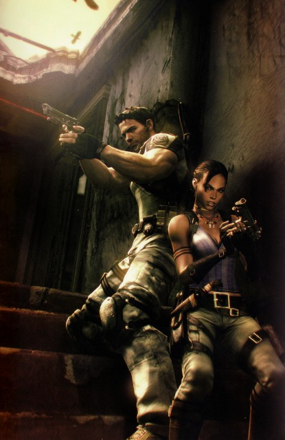 Capcom, Resident Evil 5, Sheva Alomar, Chris Redfield