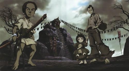 Gonzo, Afro Samurai, Jinnosuke, Okiku (Afro Samurai), Afro (Afro Samurai)