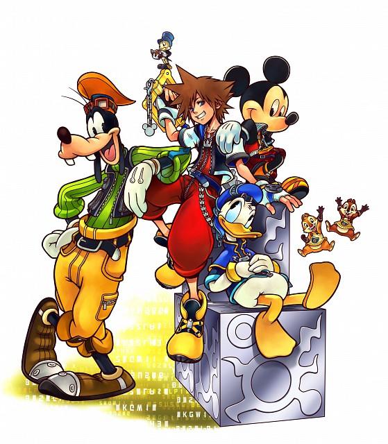 Square Enix, Kingdom Hearts, Chip and Dale, Goofy, Donald Duck