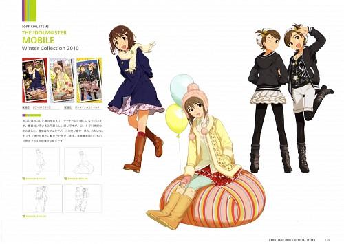 Annindofu, Annindofu Illustration Works - Brilliant Idol, Idol Master, Yukiho Hagiwara, Haruka Amami