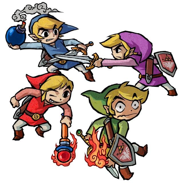 The Legend of Zelda, The Legend of Zelda: Four Swords Adventures, Link, Toon Link