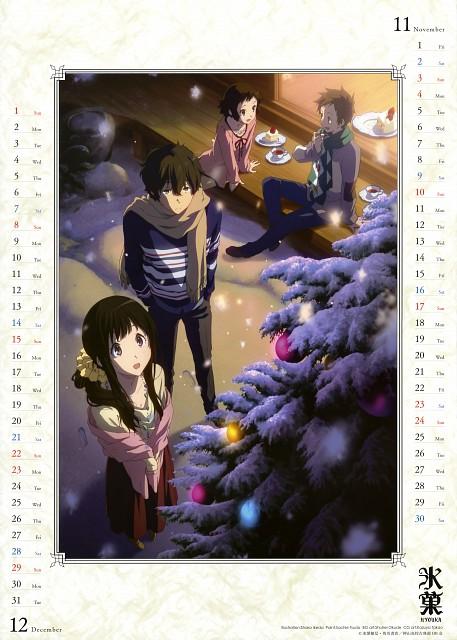 Shouko Ikeda, Kyoto Animation, Hyouka, Mayaka Ibara, Eru Chitanda