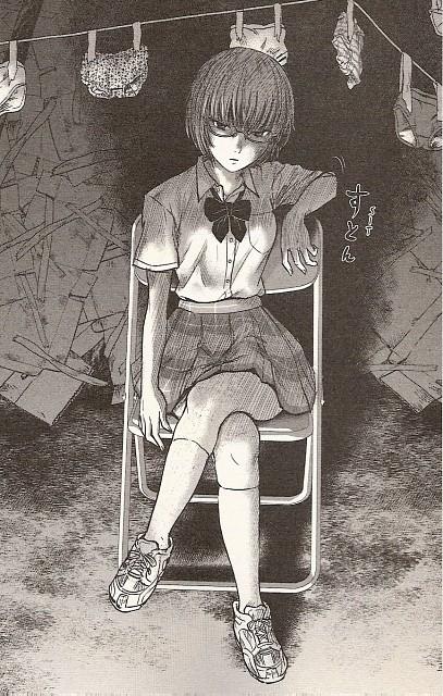 Shuuzou Oshimi, Aku no Hana, Sawa Nakamura