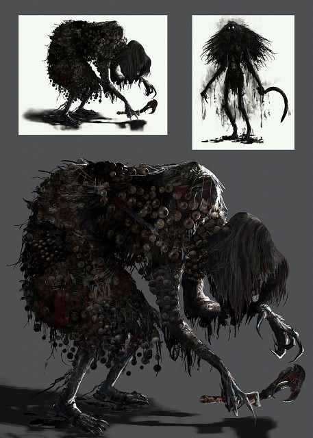 FromSoftware, Bloodborne, Witch Of Hemwick, Official Digital Art