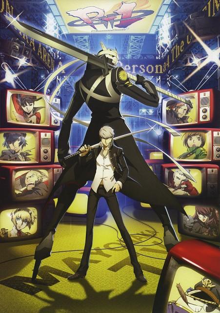 Anime International Company, Atlus, Persona 4 Official Design Works, Shin Megami Tensei: Persona 3, Shin Megami Tensei: Persona 4