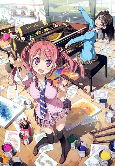 Kantoku, Shizuku (Kantoku), Kurumi (Kantoku), Comic Market 89, Artbook Cover