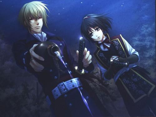 Yone Kazuki, Idea Factory, Hakuouki Shinsengumi Kitan, Chizuru Yukimura, Chikage Kazama