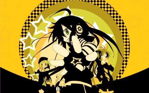 Lucky Star, Kagami Hiiragi, Miyuki Takara, Tsukasa Hiiragi, Konata Izumi Wallpaper