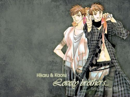 Hatori Bisco, BONES, Ouran High School Host Club, Kaoru Hitachiin, Hikaru Hitachiin Wallpaper