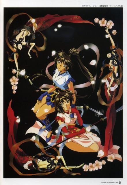 Rin Sin, Daiei, Twin Dolls, Mai Amatsu, Ai Amatsu