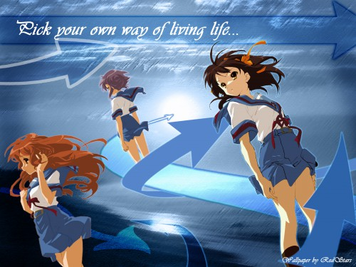 Noizi Ito, Kyoto Animation, The Melancholy of Suzumiya Haruhi, Haruhi Suzumiya, Yuki Nagato Wallpaper