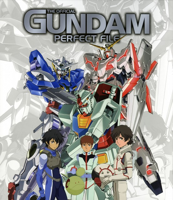 Mobile Suit Gundam 00, Mobile Suit Gundam - Universal Century, Mobile Suit Gundam Unicorn, Gundam Perfect Files, Setsuna F. Seiei