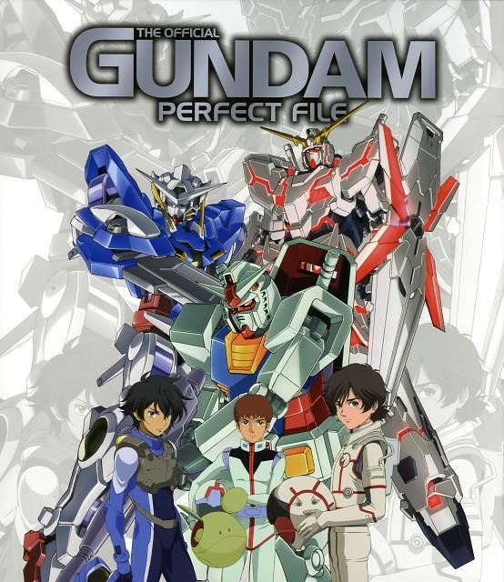 Mobile Suit Gundam 00, Mobile Suit Gundam - Universal Century, Mobile Suit Gundam Unicorn, Gundam Perfect Files, Haro