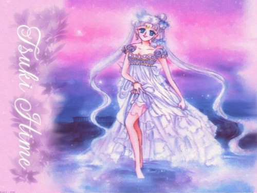 Naoko Takeuchi, Bishoujo Senshi Sailor Moon, BSSM Original Picture Collection Vol. I, Princess Serenity Wallpaper