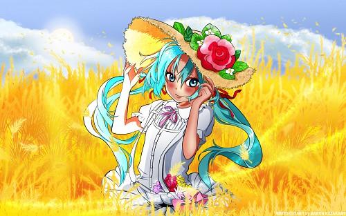 hakui, module drive #, Vocaloid, Miku Hatsune, Doujinshi Wallpaper