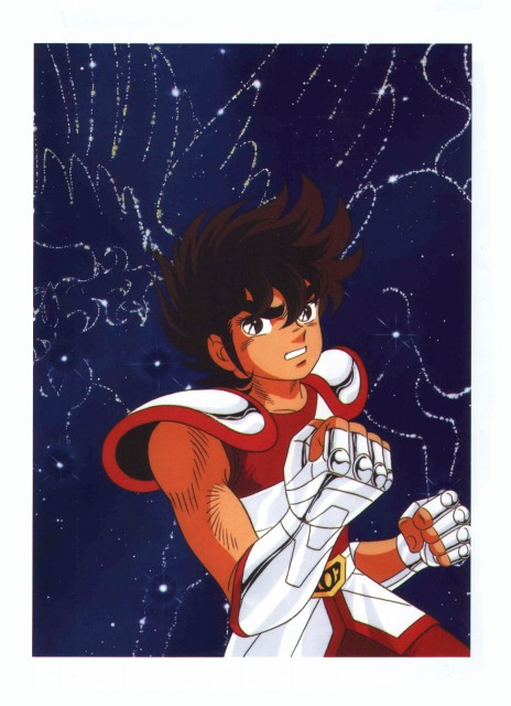 Masami Kurumada, Toei Animation, Saint Seiya, Hikari (Artbook), Pegasus Seiya