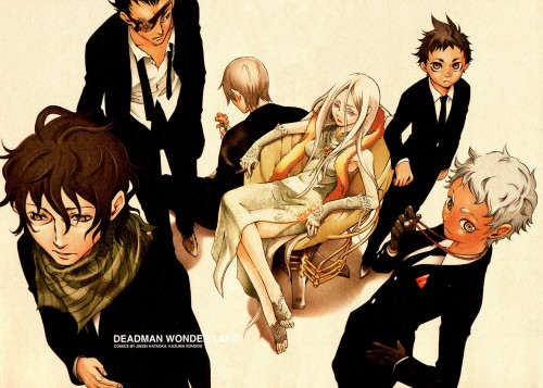 Kazuma Kondou, Deadman Wonderland, Yoh Takami, Senji Kiyomasa, Koshio Karako