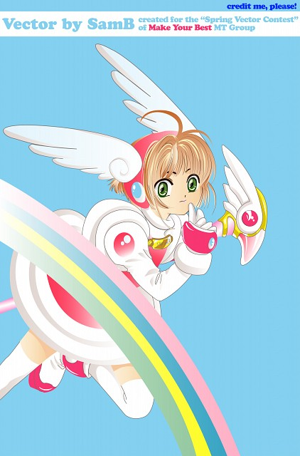 CLAMP, Madhouse, Card Captor Sakura, Sakura Kinomoto, Vector Art
