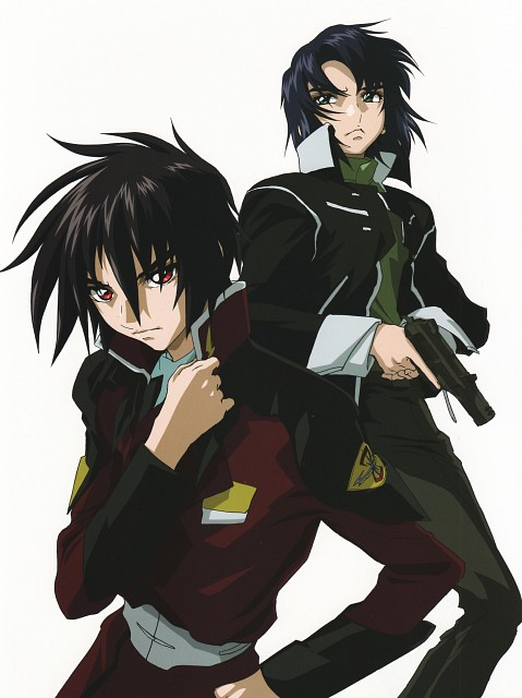 Hisashi Hirai, Sunrise (Studio), Mobile Suit Gundam SEED Destiny, Mobile Suit Gundam Seed & Seed Destiny Pinup Collection, Athrun Zala
