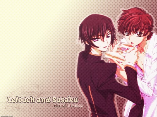 Lelouch of the Rebellion, Lelouch Lamperouge, Suzaku Kururugi Wallpaper
