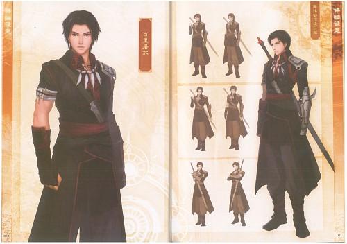 Gu Jian Qi Tan, Character Sheet