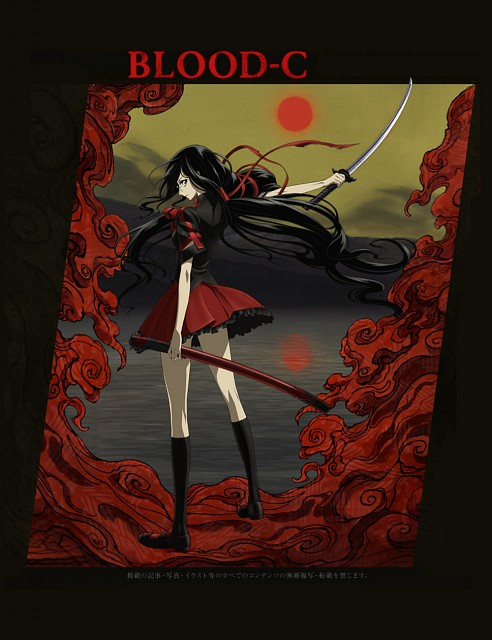 Production I.G, BLOOD-C, Saya Kisaragi
