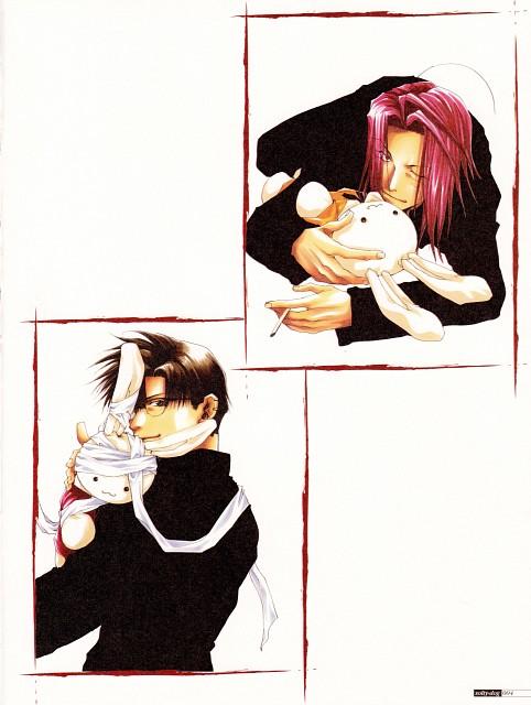 Kazuya Minekura, Studio Pierrot, Saiyuki, Salty Dog I, Cho Hakkai
