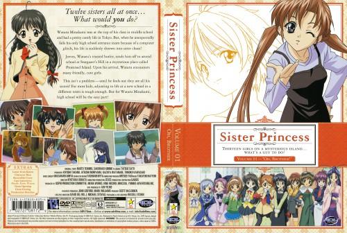 Naoto Tenhiro, Sister Princess, Hinako, Marie (Sister Princess), Shirayuki