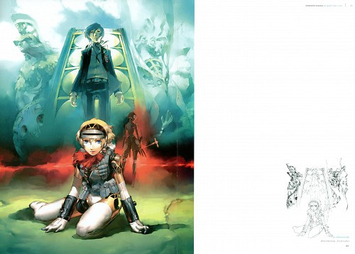 Shigenori Soejima, Atlus, Soejima Shigenori Artworks 2004-2010, Shin Megami Tensei: Persona 3, Metis