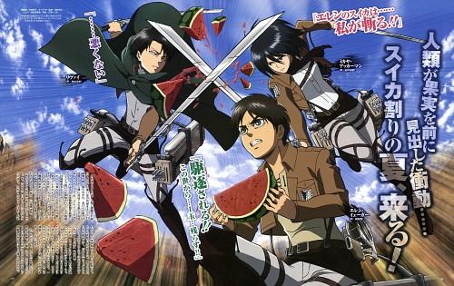Yuuko Sera, Production I.G, Shingeki no Kyojin, Mikasa Ackerman, Eren Yeager