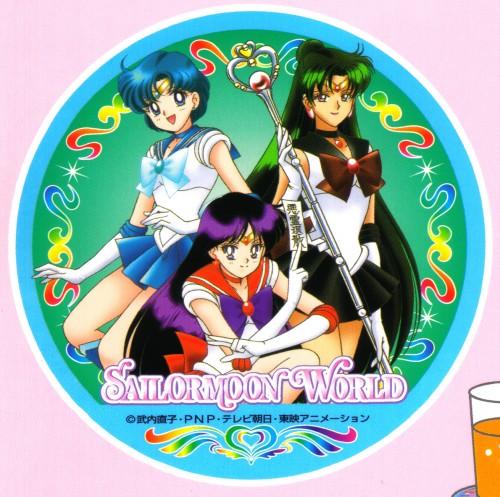 Toei Animation, Bishoujo Senshi Sailor Moon, Sailor Mars, Sailor Pluto, Sailor Mercury