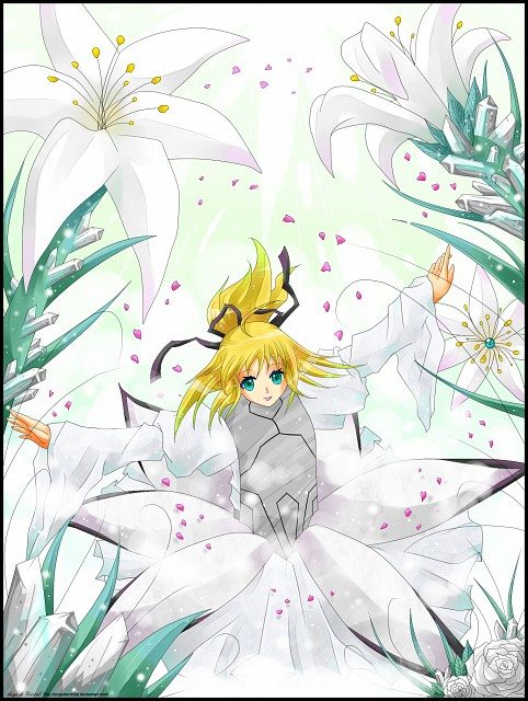TYPE-MOON, Fate/stay night, Saber Lily, Member Art